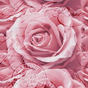 Romantic Rose - Square by Lebens Art