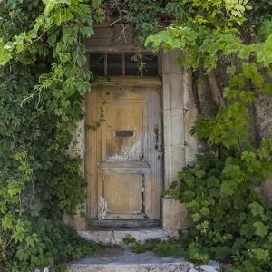 Rustic Door - Square by Lebens Art