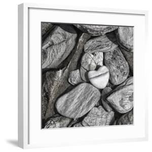 Stone Heart 2 - Square by Lebens Art