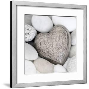 Stone Heart - Square by Lebens Art