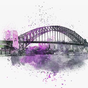 Sydney Harbor Bridge 3 - Square by Lebens Art