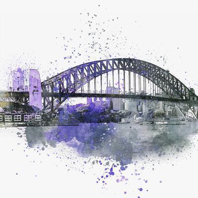 Sydney Harbor Bridge - Square