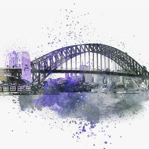 Sydney Harbor Bridge - Square by Lebens Art