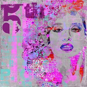Woman Art - Square by Lebens Art