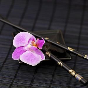 Zen Orchid - Square by Lebens Art
