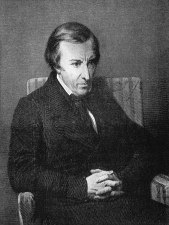 Hughes Felicite Robert De Lamennais, French Philosophical and Political Writer, 19th Century