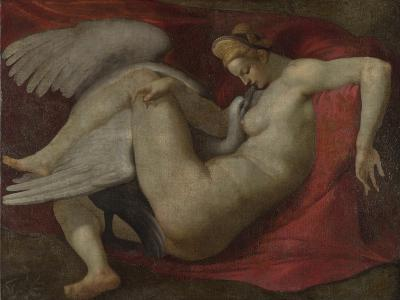 Leda and the Swan, after 1530-Michelangelo Buonarroti-Giclee Print