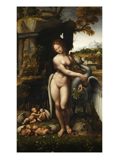 Leda and the Swan-Francesco Melzi-Giclee Print