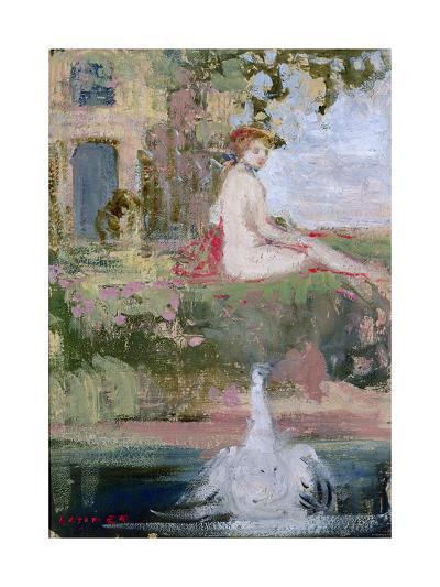 Leda and the Swan-Charles Edward Conder-Giclee Print