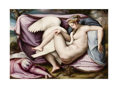Leda and the Swan-Michelangelo Buonarroti-Giclee Print