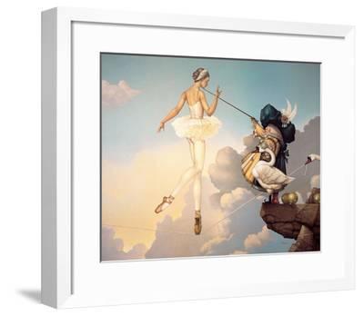 Leda's Daughter-Michael Parkes-Framed Art Print