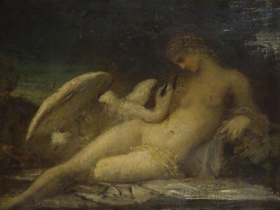 Léda-Gustave Moreau-Giclee Print