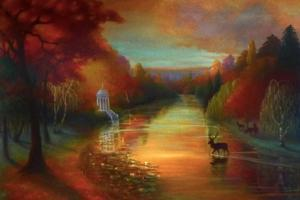 Autumn Idyl, by Lee Campbell