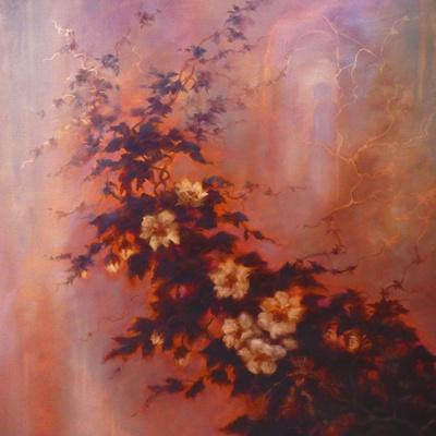 Esprit des Fleurs  2020  (oil on canvas)