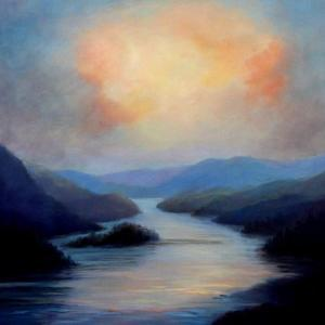 Highland Loch, 2018 by Lee Campbell
