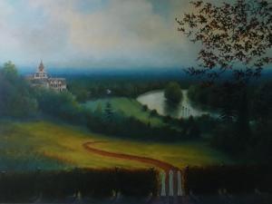 Petersham Hotel, 2011 Landscape by Lee Campbell