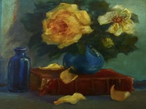 Yellow Roses, by Lee Campbell