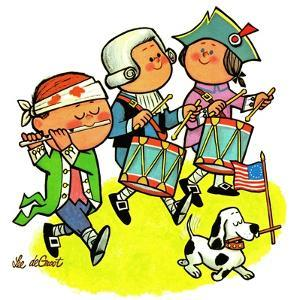 Colonial Marching Band - Jack & Jill by Lee de Groot