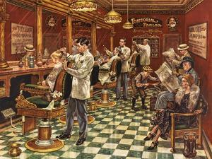 Tonsorial Parlor by Lee Dubin