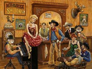 Wild Wild West Saloon by Lee Dubin
