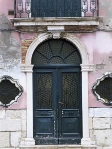 Architectural Detail, Burano, Venice, Veneto, Italy by Lee Frost