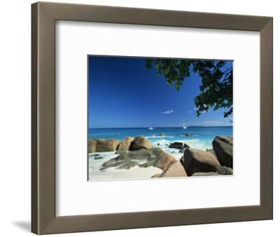 Beach Scene, Anse Lazio, Praslin, Seychelles, Indian Ocean, Africa