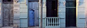 Facade of Old Colonial House in Evening Light, Cienfuegos, Cuba, West Indies, Central America by Lee Frost
