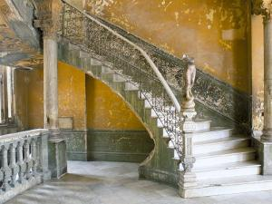 Interior of the Building in Havana Centro, Havana, Cuba, West Indies, Central America by Lee Frost
