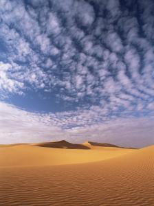 Sand Dunes in Erg Chebbi Sand Sea, Sahara Desert, Near Merzouga, Morocco, North Africa, Africa by Lee Frost