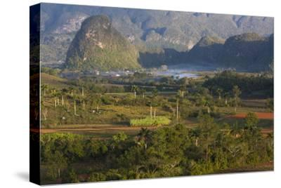 Vinales Valley, UNESCO World Heritage Site, Bathed in Early Morning Sunlight