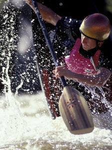 Rio Grande River Kayaking, New Mexico, USA by Lee Kopfler