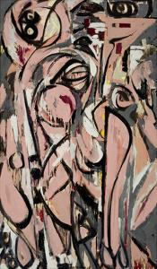Birth, 1956 by Lee Krasner