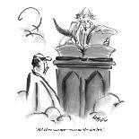 """""""Is that with or without goat cheese?"""" - New Yorker Cartoon-Lee Lorenz-Premium Giclee Print"""