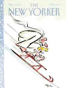 The New Yorker Cover - December 30, 1991 by Lee Lorenz