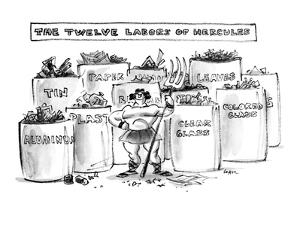 The Twelve Labors of Hercules - New Yorker Cartoon by Lee Lorenz