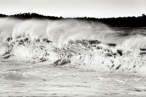 Carmel Waves II BW by Lee Peterson