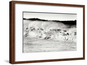 Carmel Waves II BW by Lee Peterson