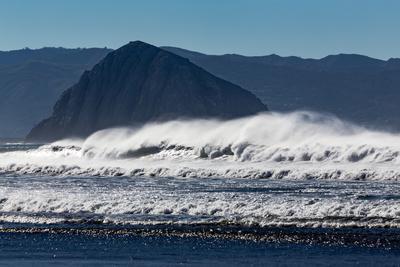 Morro Rock Waves