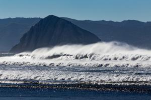 Morro Rock Waves by Lee Peterson
