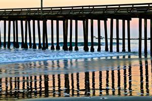 Pier Silhouette II by Lee Peterson