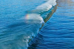 Rainbow Wave I by Lee Peterson