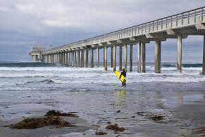 Scripps Pier I by Lee Peterson