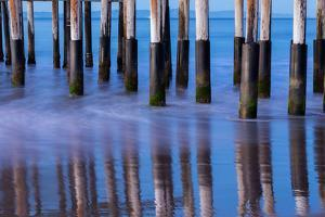 Ventura Pier Reflections II by Lee Peterson