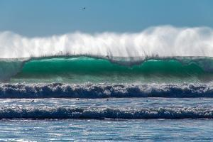 Waves in Cayucos III by Lee Peterson