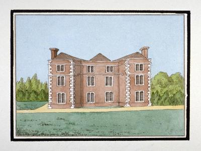 Lee Place Which Stood on the North Side of Old Road, Lewisham, London, C1795--Giclee Print