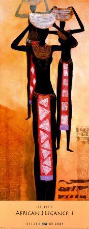 African Elegance I