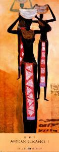 African Elegance I by Lee White