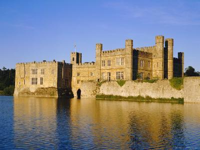 Leeds Castle, Near Maidstone, Kent, England-Charles Bowman-Photographic Print