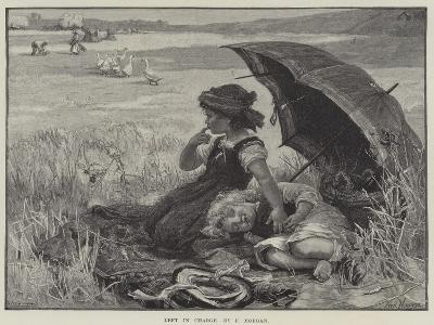 Left in Charge-Frederick Morgan-Giclee Print