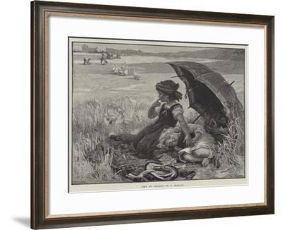 Left in Charge-Frederick Morgan-Framed Giclee Print